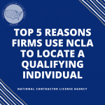 Top 5 Reasons Firms Use NCLA to Locate a Qualifying Individual