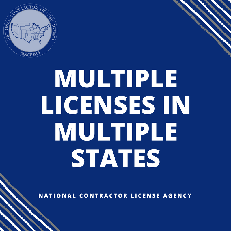 Multiple Licenses in Multiple States
